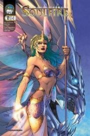 Aspen Soulfire #4B Jim Lee Cover